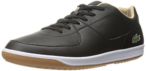 Lacoste Men's Ls.12-Minimal Ripple 316 1 Spm Fashion Sneaker, Black, 7.5 M US