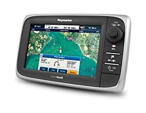 Raymarine e7 7-Inch Widescreen Multifunction Display with USA Cartography by Raymarine