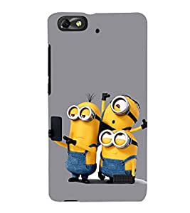 Funny Characters 3D Hard Polycarbonate Designer Back Case Cover for Huawei Honor 4C :: Huawei G Play Mini