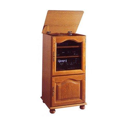 meubles tv beaux meubles pas chers meuble rack hifi ch ne 2 portes dessus relevable 5616ar. Black Bedroom Furniture Sets. Home Design Ideas