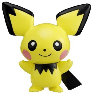 "Takaratomy Pichu (MC-1): Pokemon Monster Collection 2"" Mini Figure - 1"