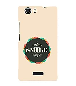 iFasho Nice Quote On beautiful Back Case Cover for Micromax Canvas Nitro 2 E311