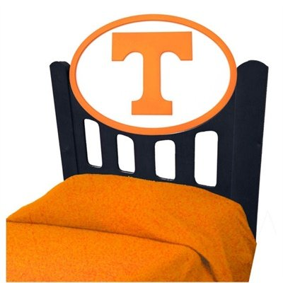 Cheap Tennessee Titans Kids Wooden Twin Headboard With Logo (C0526B-Tennessee)