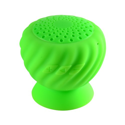 Kinglake New Pineapple Mini Bluetooth Speaker Wireless Hands Free Waterproof With Silicone Suction (Green)