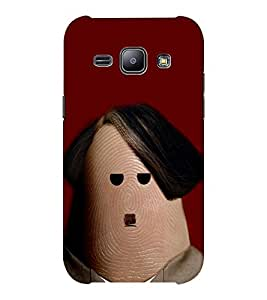 EPICCASE Hitler thumb Mobile Back Case Cover For Samsung J1 Ace (Designer Case)