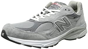New Balance Men's 990V3 Running Shoe,Grey,10.5 2E US