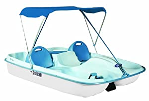Buy Pelican Rainbow Deluxe Pedal Boat, Fade Blue White by Pelican