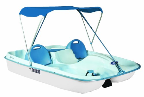 Pelican Rainbow Deluxe Pedal Boat, Fade Blue/White at Sears.com
