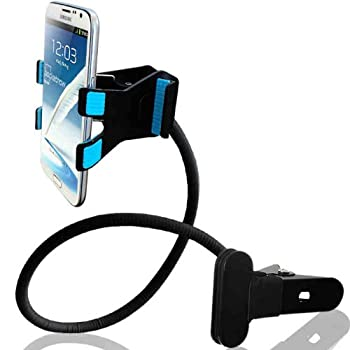 AboveTEK Lazy Bed Gooseneck Swing Long Arm Desk Table Chair Wall Seat Bed One Clip Clamp Mount Holder for Cellphones, Tablets, iPhone, iPad, Galaxy Nexus from AboveTEK