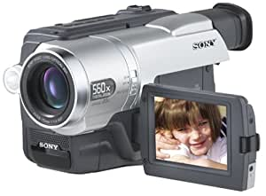 "Sony CCDTRV608 Hi8 Camcorder with 3.0"" LCD, Video Light & USB Streaming"