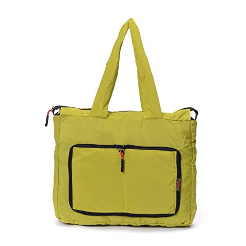 Yinjue Lightweight Foldable Women's Big Logo Gym Yoga Totes Bag