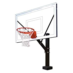 First Team Hydrosport Select Swimming Pool Basketball Hoop With 60 Inch Acrylic