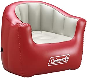 Coleman Inflatable Adult Chair Red Sports Outdoors