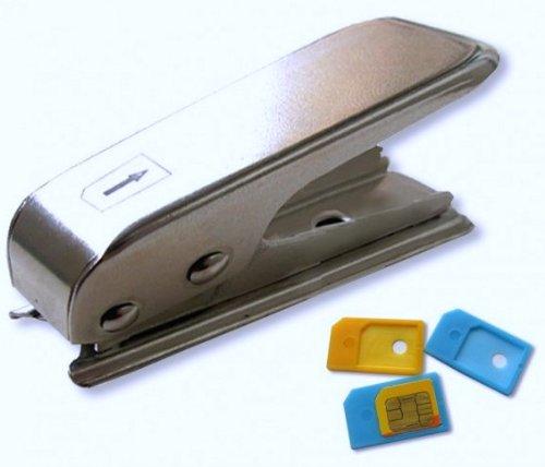 LUPO Adaptateurs carte Micro SIM Cutter & 2 - pour l'iPhone 4 et iPad