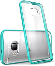 HTC One M9 Case, [Scratch Resistant] i-Blason **Clear** [Halo Series] HTC One Hima M9 Hybrid Bumper Case Cover (Clear/Green)