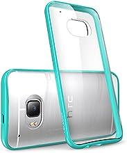 HTC One M9 Case, [Scratch Resistant] i-Blason **Clear** [Halo Series] HTC One Hima M9 Hybrid Bumper Case Cover (Clear/Green)