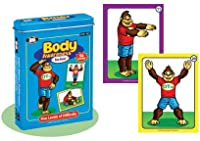 Yogarilla Body Awareness Card Deck - Super Duper Educational Learning Toy for Kids from Super Duper® Publications