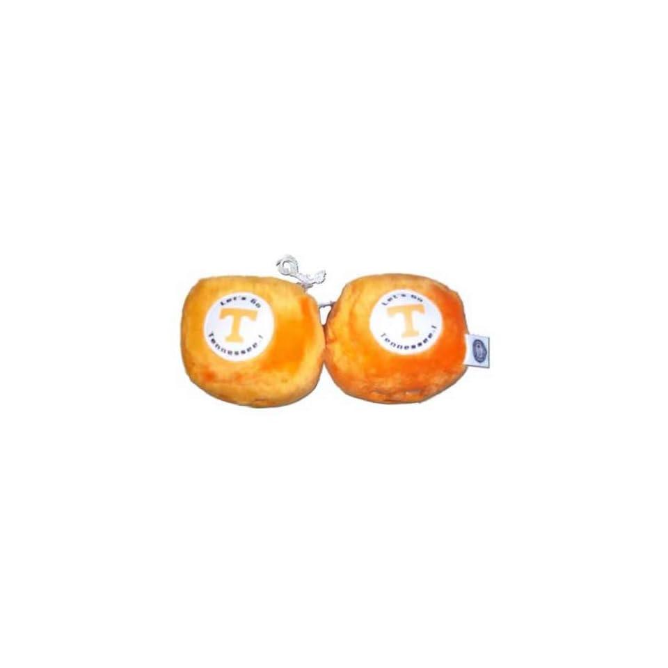 Tennessee Volunteers Orange Plush Fuzzy Dice On Popscreen