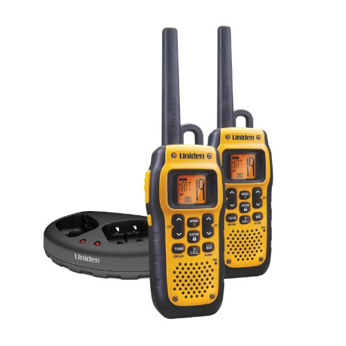 Uniden GMR3689-2CK 36-Mile GMRS TRU Waterproof Two-Way Radios with Headset Jack