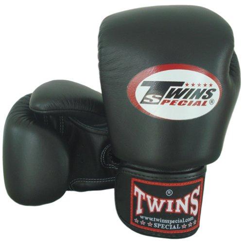 Twins special BGVL-3  - Guanti da boxe Muay Thai, colore nero