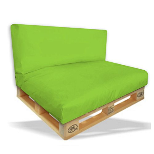 Palettenkissen-2er-Set-Sitzpolster-120x80x15cm-Rckenkissen-120x40x10cm-Farbe-Hellgrn-In-Outdoor-Palettenpolster-Paletten-Rattanmbel-Polster