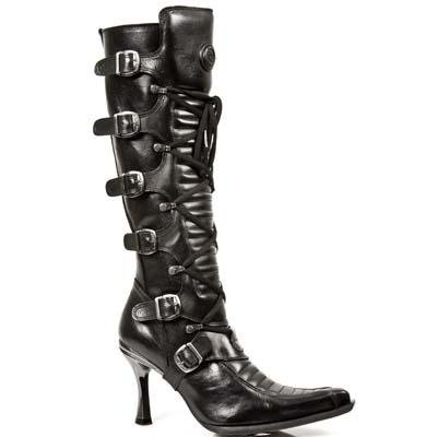 New Rock Malicia Boots Women - Black - Euro 37 / UK 4