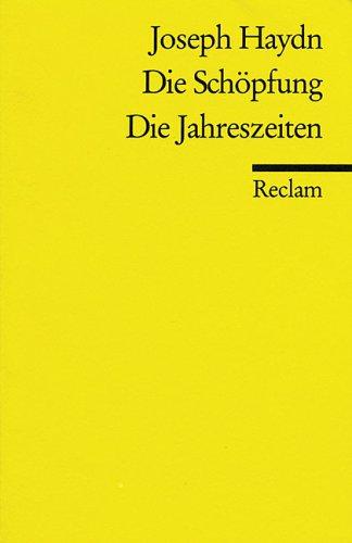 Die Schöpfung / Die Jahreszeiten.