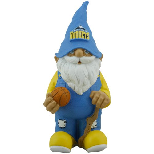 Forever Collectibles NBA Denver Nuggets Garden Gnome