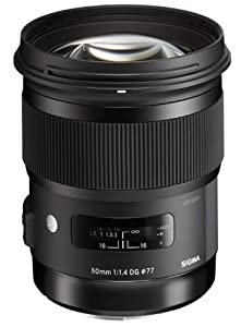 Sigma 50mm F1.4 DG HSM Art Lens for Canon