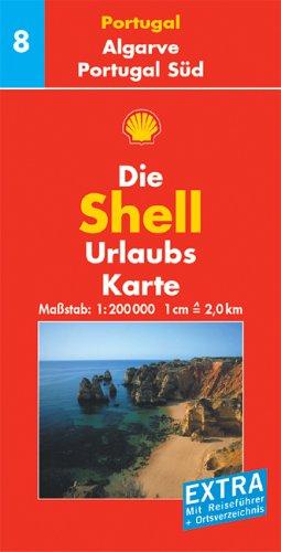 Shell Urlaubskarte Portugal 8. Algarve. Portugal