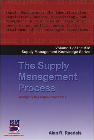 The Supply Management Process (Ism Knowledge Series)