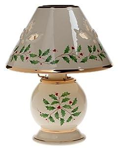 Amazon Com Lenox Holiday Candle Lamp Lennox Holiday Lamp