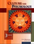 Culture and Psychology  by Matsumoto