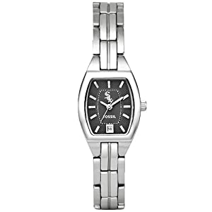 MLB Fossil Chicago White Sox Ladies Stainless Steel Cushion Watch by Fossil