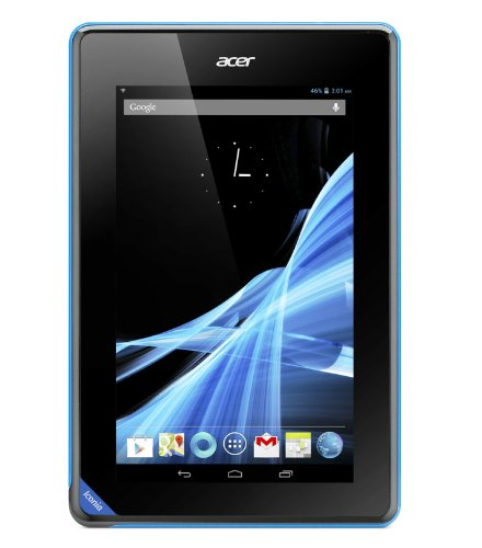Acer Iconia B1 7-inch Tablet (Black) - (MediaTek MTK 8317T 1.2GHz Processor, 512MB RAM, 16GB eMMC, Camera, WLAN, BT, Android 4.1)