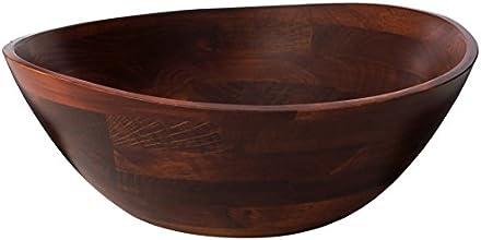 Lipper International 13-Inch Cherry Wavy Rim Bowl
