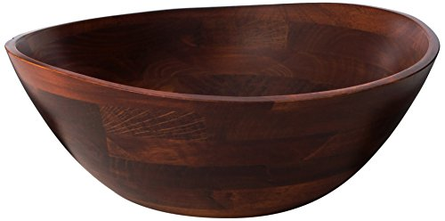 Lipper International 13-Inch Cherry Wavy Rim Bowl