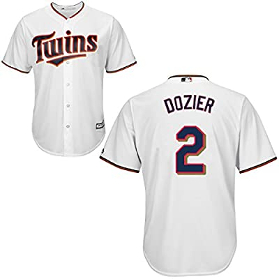 Brian Dozier Minnesota Twins Home Youth Replica Cool Base Jersey by Majestic