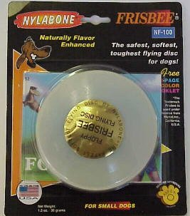 TFH/NYLA NYLABONE FRISBEE TOY SMALL
