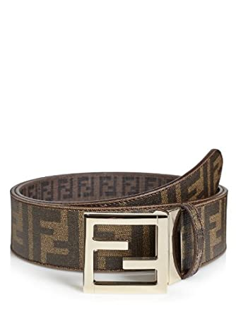 reversible fendi belt brown 35 5 us 90 it 90 eu