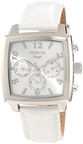 Invicta Women's 12104 Angel Silver Dial Strap Watch