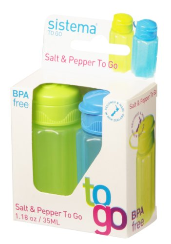 Sistema 21473 Hangsell Salt And Pepper Container