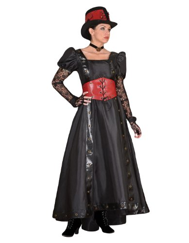 Tabi's Characters Women's Steampunk Theatrical Victorian Costume Dress