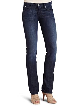 Rock & Republic Women's Stella Straight Leg Jean, Persephone Blue, 25