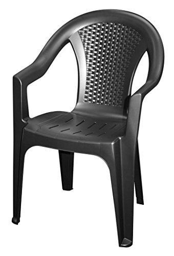 102116-in-antracite-Monoblocco-in-effetto-rattan-sedia-da-giardino-Sedia-in-plastica-Sedia-impilabile-in-plastica