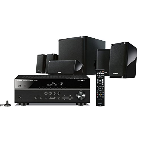 Yamaha YHT-4930 Kit Home Cinema 5.1, Nero