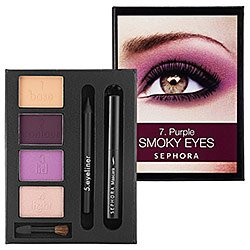 SEPHORA COLLECTION Beauty In A Box Purple Smoky Eyes Tutorial ($50 Value) Purple Smoky Eyes Tutorial