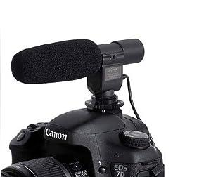 Generic SG-108 DV Stereo Video Shotgun Mic Microphone for Nikon Canon Camera DV Camcorder