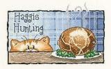 Haggis Hunting, 28 count Evenweave Cross Stitch Kit