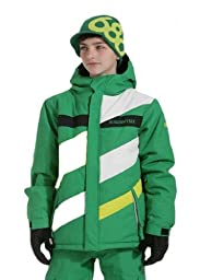 686 Mannual Puffy Jacket Kelly Colorblock L -Kids
